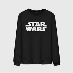 Свитшот хлопковый мужской Star Wars цвета черный — фото 1