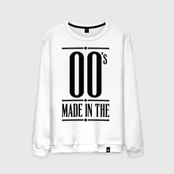 Свитшот хлопковый мужской Made in the 00s цвета белый — фото 1
