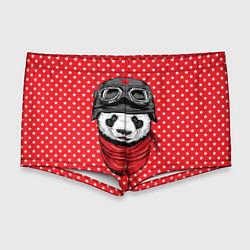 Мужские плавки Панда пилот цвета 3D — фото 1