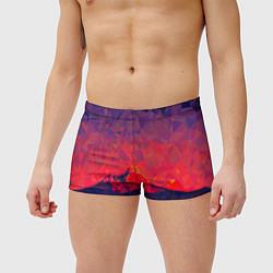 Мужские плавки Абстракция цвета 3D — фото 2