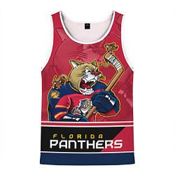 Майка-безрукавка мужская Florida Panthers цвета 3D-белый — фото 1