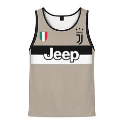Майка-безрукавка мужская FC Juventus: Away 18/19 цвета 3D-черный — фото 1