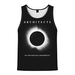 Майка-безрукавка мужская Architects: Black Eclipse цвета 3D-черный — фото 1