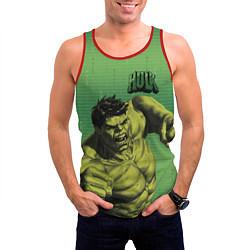 Майка-безрукавка мужская Hulk цвета 3D-красный — фото 2