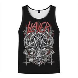 Майка-безрукавка мужская Slayer цвета 3D-черный — фото 1