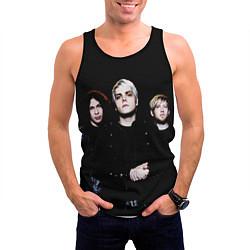 Майка-безрукавка мужская My Chemical Romance цвета 3D-черный — фото 2