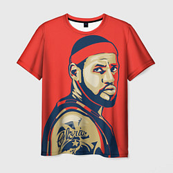 Мужская 3D-футболка с принтом LeBron James, цвет: 3D, артикул: 10105826003301 — фото 1