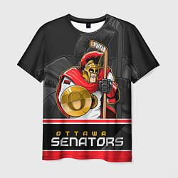 Футболка мужская Ottawa Senators цвета 3D — фото 1