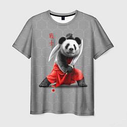 Футболка мужская Master Panda цвета 3D — фото 1