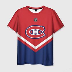 Футболка мужская NHL: Montreal Canadiens цвета 3D — фото 1