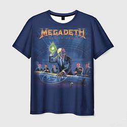 Футболка мужская Megadeth: Rust In Peace цвета 3D-принт — фото 1