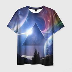 Футболка мужская Pink Floyd: Space цвета 3D-принт — фото 1