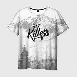 Футболка мужская The Killers: Alpen цвета 3D — фото 1