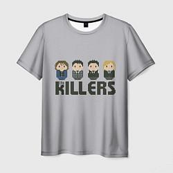 Футболка мужская The Killers Boys цвета 3D-принт — фото 1