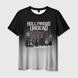 Футболка мужская Hollywood Undead: Day of the dead цвета 3D — фото 1