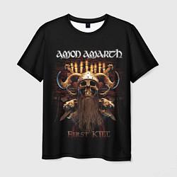 Футболка мужская Amon Amarth: First kill цвета 3D — фото 1