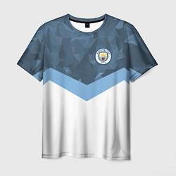 Футболка мужская Manchester City FC: Sport цвета 3D — фото 1