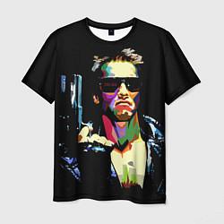 Футболка мужская Terminator Art цвета 3D — фото 1