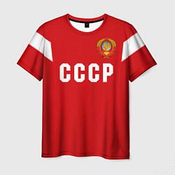 Футболка мужская Сборная СССР 1988 цвета 3D — фото 1