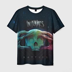 Футболка мужская In Flames: Battles цвета 3D — фото 1