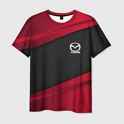 Футболка мужская Mazda: Red Sport цвета 3D — фото 1