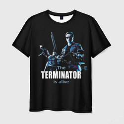 Футболка мужская Terminator: Is alive цвета 3D — фото 1