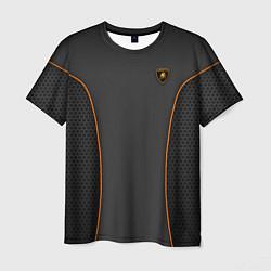 Мужская 3D-футболка с принтом Lamborghini Style, цвет: 3D, артикул: 10154121103301 — фото 1