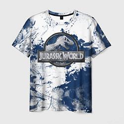 Футболка мужская Jurassic World: Cold Winter цвета 3D — фото 1