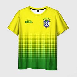 Футболка мужская CBF Brasil цвета 3D-принт — фото 1