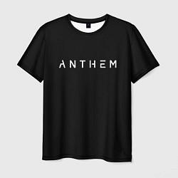 Мужская 3D-футболка с принтом ANTHEM: Black Style, цвет: 3D, артикул: 10155655903301 — фото 1