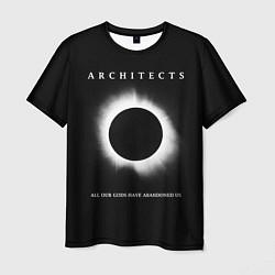 Футболка мужская Architects: Black Eclipse цвета 3D — фото 1