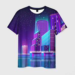 Футболка мужская Neon Nights цвета 3D — фото 1
