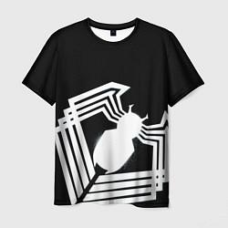 Мужская 3D-футболка с принтом Venom spider, цвет: 3D, артикул: 10179081103301 — фото 1