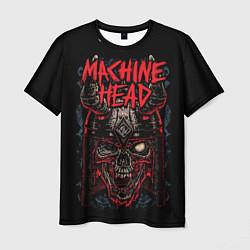 Футболка мужская Machine Head: Blooded Skull цвета 3D — фото 1