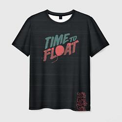 Футболка мужская Time to float цвета 3D-принт — фото 1