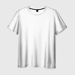 Футболка мужская Без дизайна цвета 3D — фото 1