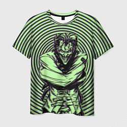 Футболка мужская Joker in a straitjacket цвета 3D — фото 1