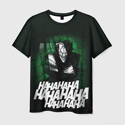 Футболка мужская Laughing Joker цвета 3D-принт — фото 1