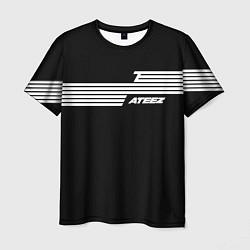 Мужская 3D-футболка с принтом Ateez, цвет: 3D, артикул: 10196210903301 — фото 1