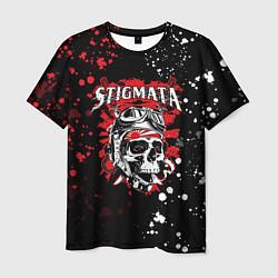Мужская 3D-футболка с принтом Stigmata, цвет: 3D, артикул: 10203578503301 — фото 1