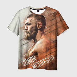 Мужская 3D-футболка с принтом McGREGOR, цвет: 3D, артикул: 10204134703301 — фото 1