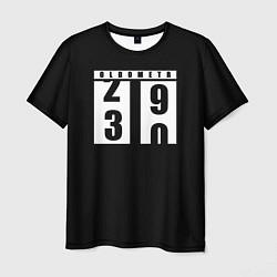 Футболка мужская OLDOMETR 30 лет цвета 3D — фото 1