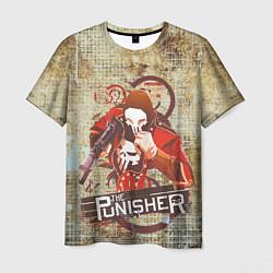 Футболка мужская The Punisher цвета 3D — фото 1
