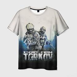 Футболка мужская Escape from Tarkov Z цвета 3D — фото 1