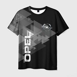 Футболка мужская OPEL цвета 3D-принт — фото 1