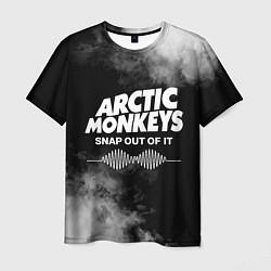 Футболка мужская Arctic Monkeys цвета 3D — фото 1