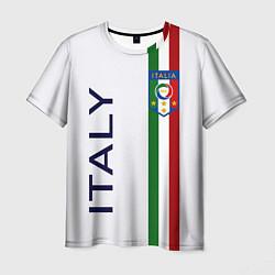 Мужская 3D-футболка с принтом СБОРНАЯ ИТАЛИИ, цвет: 3D, артикул: 10274739703301 — фото 1