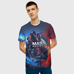 Футболка 3D мужская Mass EFFECT Legendary ed - фото 2