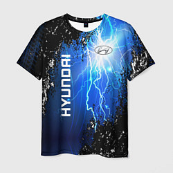 Футболка мужская Hyundai цвета 3D — фото 1