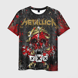 Футболка мужская Metallica XXX цвета 3D-принт — фото 1